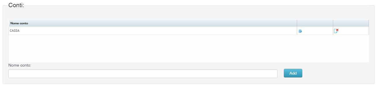 SystemCloud conti di prima nota