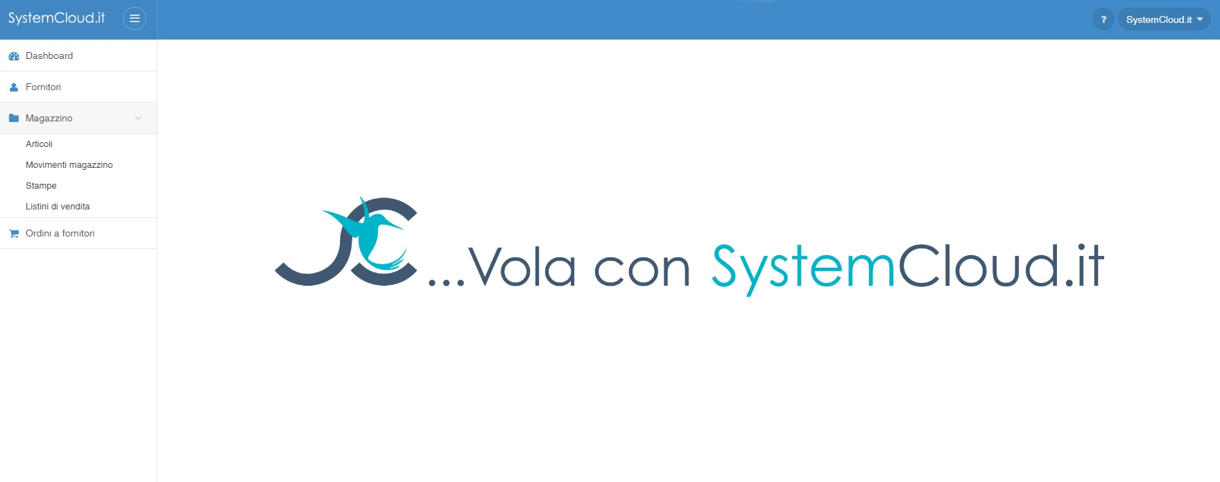 systemcloud profilo magazziniere